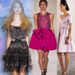 Модные платья на выпускной вечер