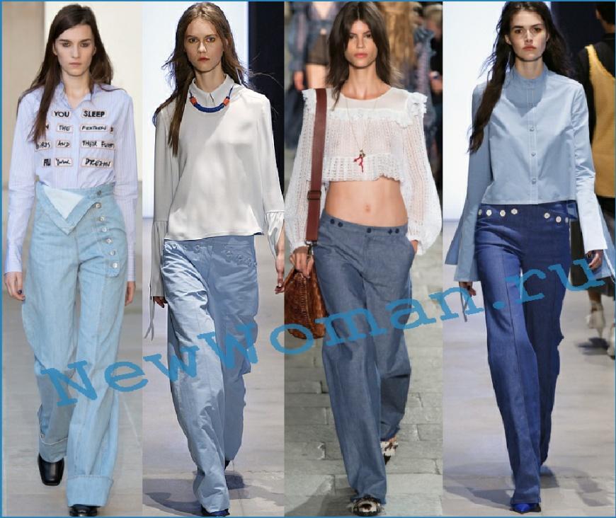 Модный тренд - отделка женских джисовых боюк пуговицами