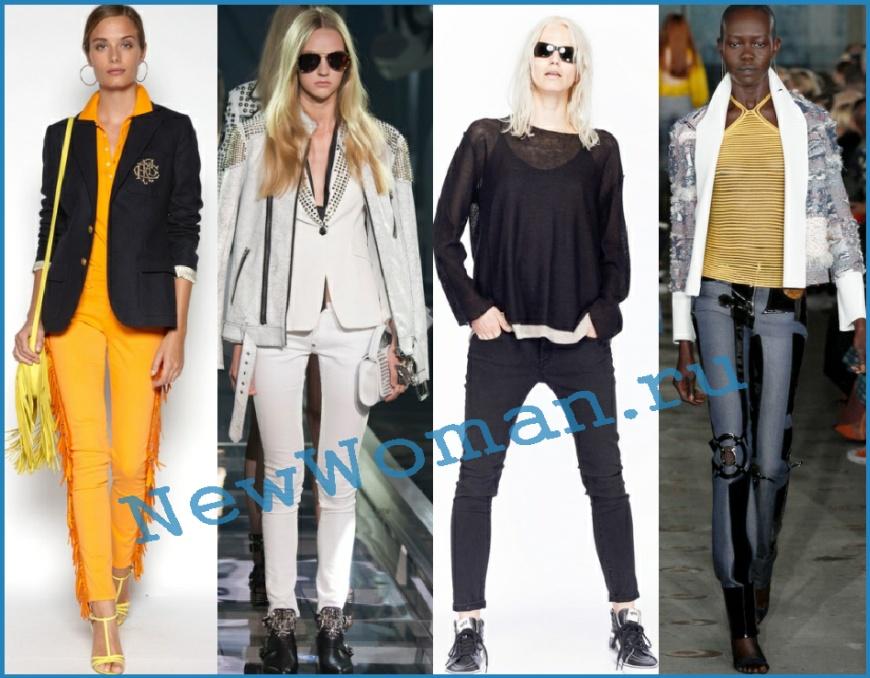 Женские джинсы скинни 2016