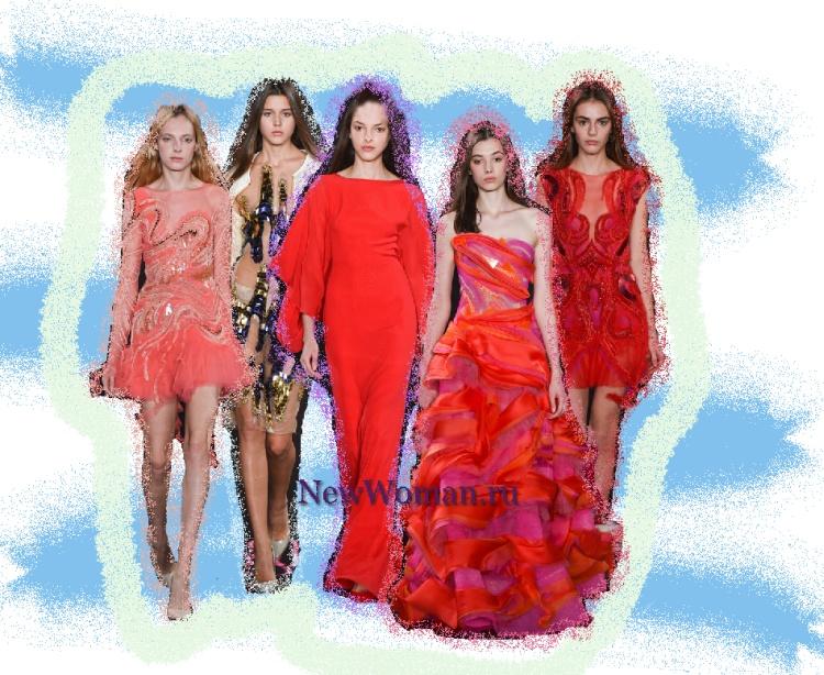 Новогоднее платье. Фото модных новогодних платьев