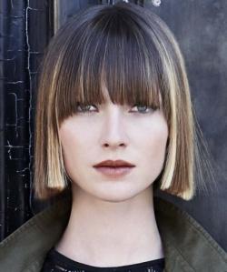 Женские стрижки для средних волос фото