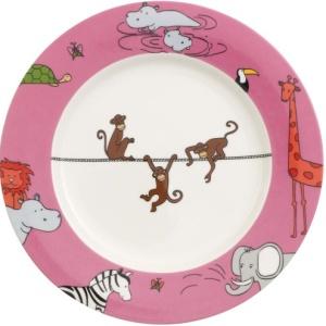 Тарелка с обезьянками