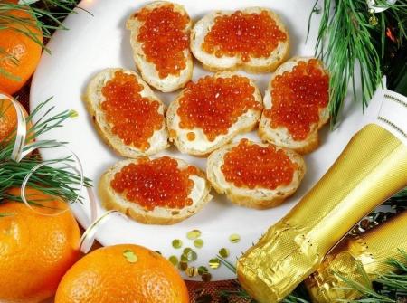 Новогоднее застолье - избранные новогодние рецепты