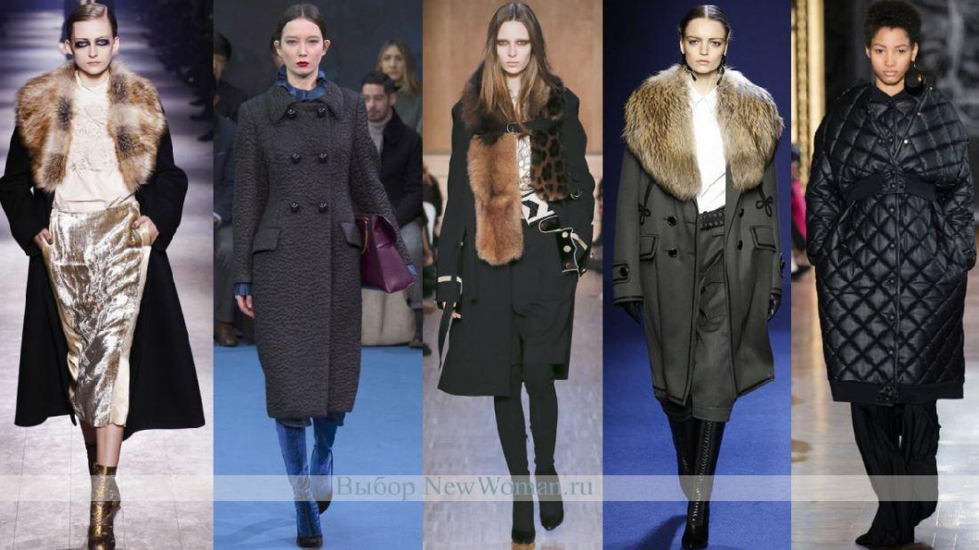 Модные тенденции женского зимнего пальто