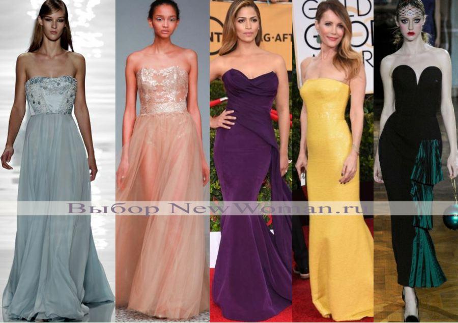 голубое корсетное платье, розовое, фасон русалка