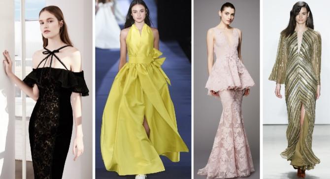 новогодние платья из шелка и кружевного полотна