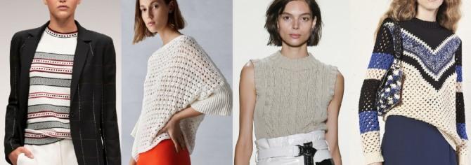 Кофты 2018 года модные тенденции фото