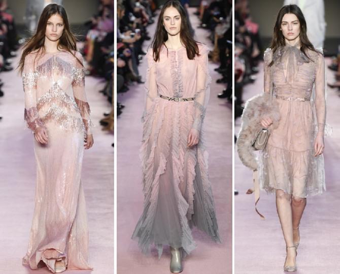 пастельный розовый - платья на новый год 2019
