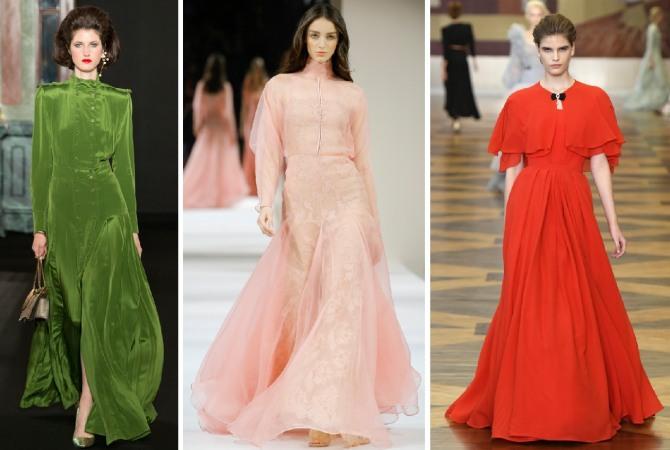 фасоны нарядных платьев для женщин за 50