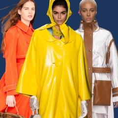 Модный женский плащ 2019 - тренды и фото с модных показов 2019 года