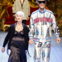 Модные фасоны платьев для взрослых женщин за 50, 60, 70 лет - фото