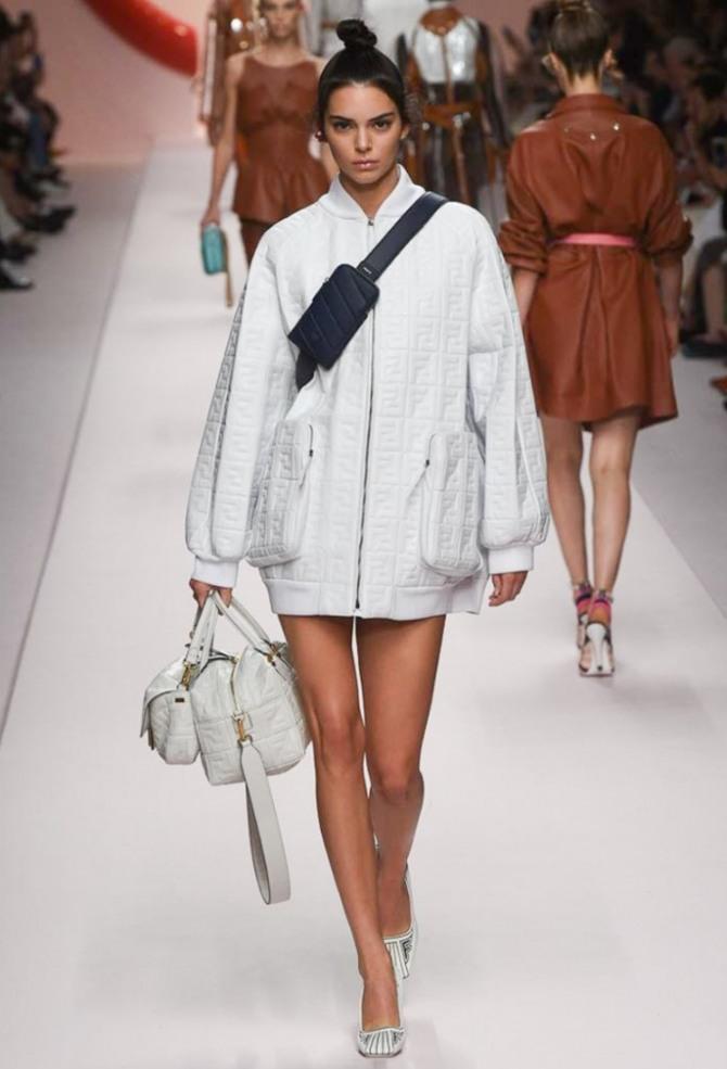 модели женских стильных курток весна-лето 2019 от Fendi