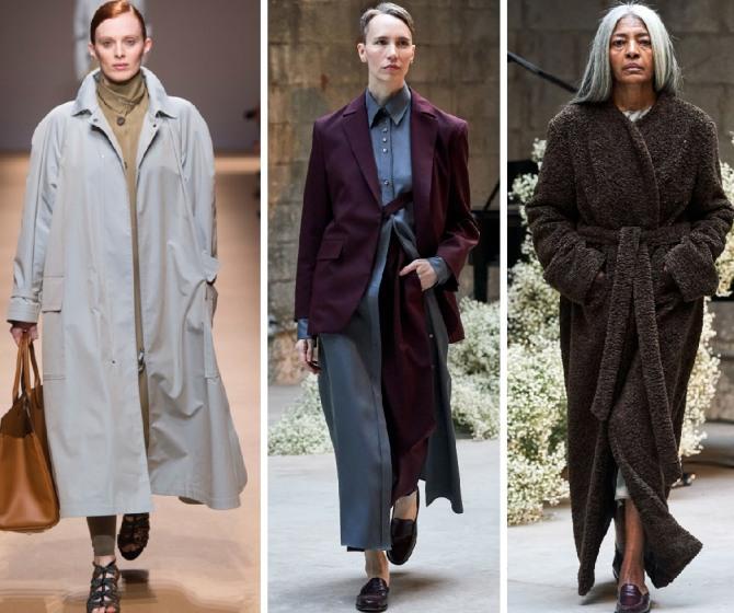 модная осенняя одежда для пожилых