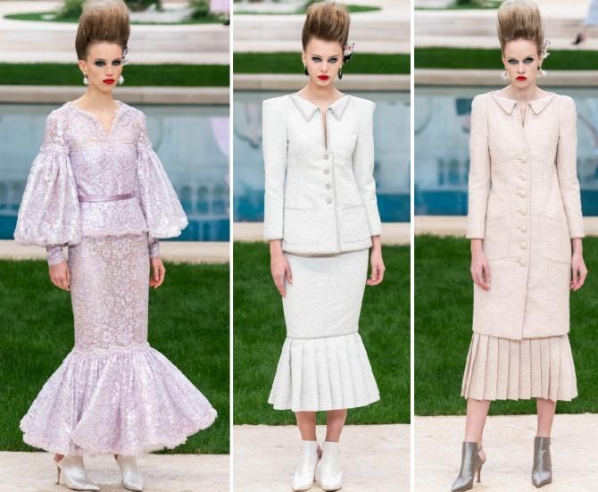 роскошные наряды в ретро стиле для женщин 60 70 лет