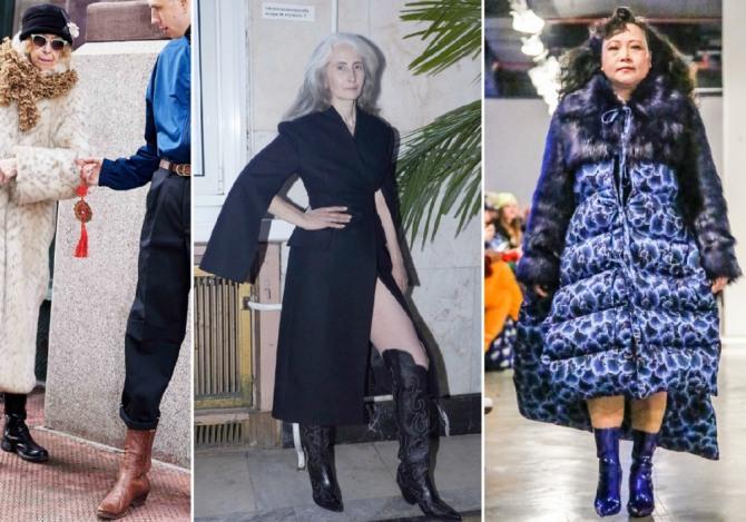 примеры модной одежды для пожилых на 2019 и 2020 год