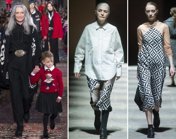 пожилые модели за 70 демонстрируют модную одежду для пожилых на 2019 год