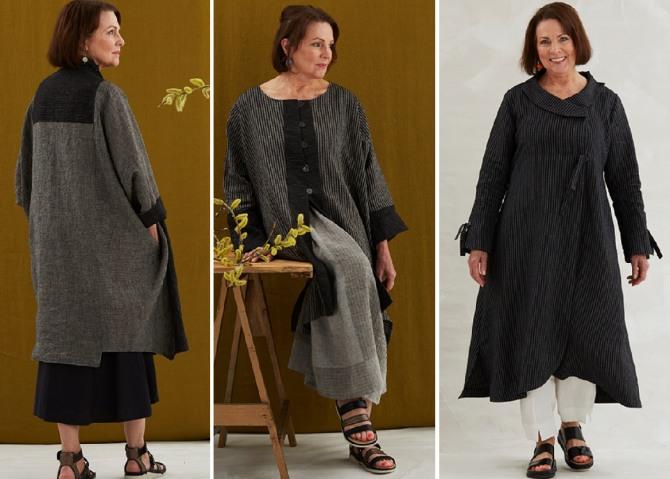стильная одежда для полных пожилых женщин за 60 на весну 2019 года