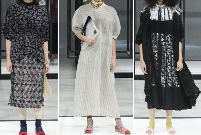 моные лук для пожилых женщин - дизайнерские идеи 2019 года