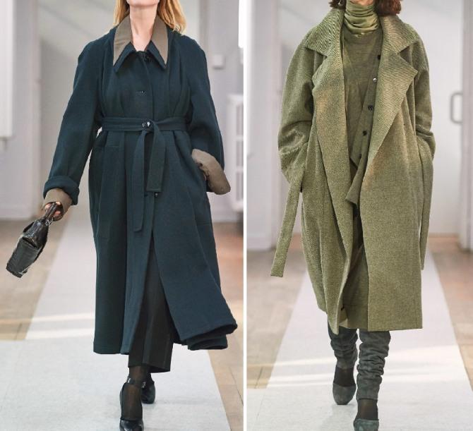 какие пальто модные в 2019 2020 году для дам пожилого возраста