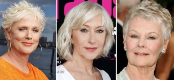стрижки для женщин 60 лет - стильные и омолаживающие лицо