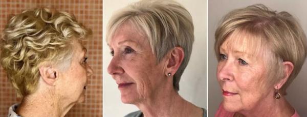 как выглядеть моложе женщине за 70 лет - идеи омолаживающих стрижек и укладок - фото