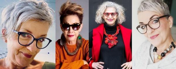 бабушки с креативными стрижками