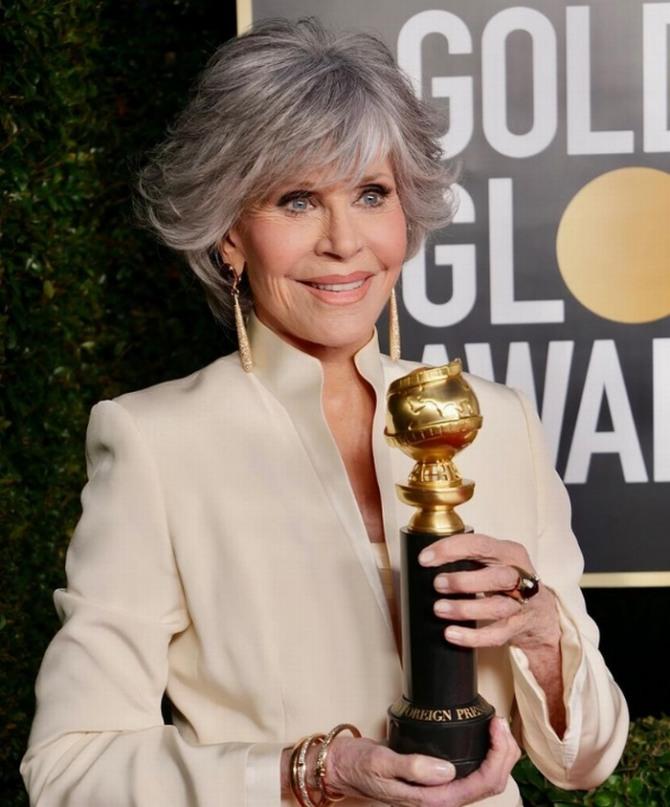 Jane Fonda 83 года
