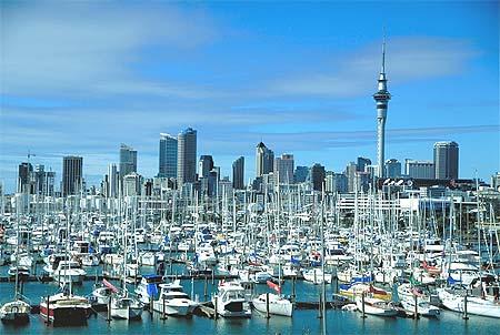 Окленд, Новая Зеландия.