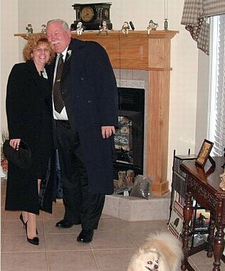 Елена Вайет с супругом