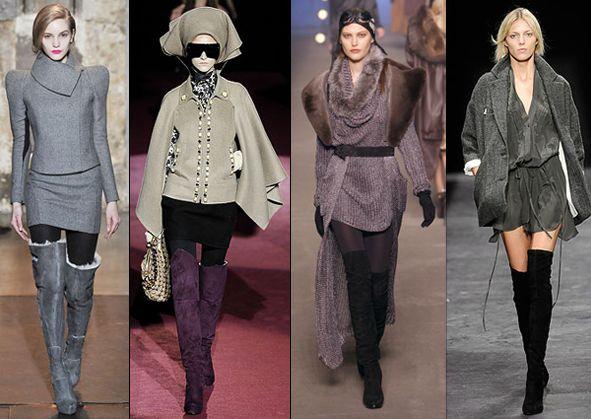 Модная женская обувь сезона Осень-Зима 2009/2010
