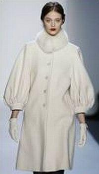 Галерея модного зимнего женского пальто 2010.