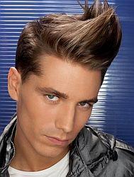 Мужская причёска в стиле стиляг