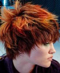 Стрижки для рыжих волос
