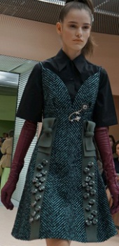 Fashionable sundress kış