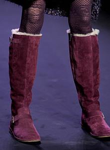 модная женская обувь Alexander McQueen 2012 фото.
