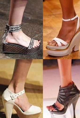 Модная женская обувь и аксессуары сезона Весна / Лето 2012