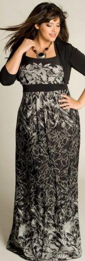 Нарядные платья для полных с длинным рукавом