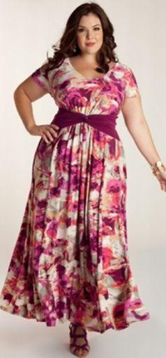 f947031932ef895 Модные летние платья для полных [фото]. Лето: платья и сарафаны для ...
