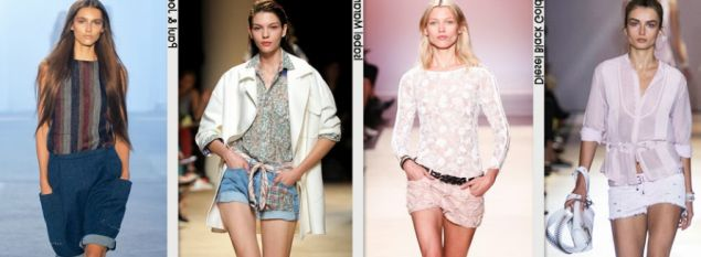 Модные шорты для девушек