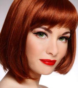 стрижки с рыжими волосами