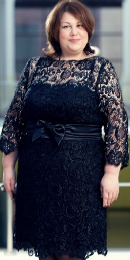 Нарядные платья для пышек из гипюра