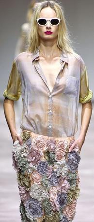 Блузка - необходимая деталь женского гардероба. Модные блузки Осень-Зима 2013-2014