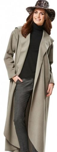 Модадля полных пальто платья