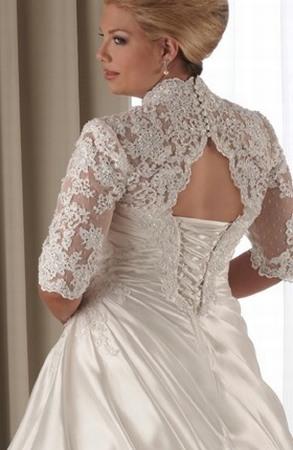 Свадебные платья для больших невест