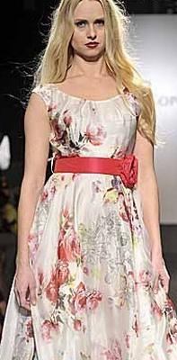 Модныелетние платья 2013