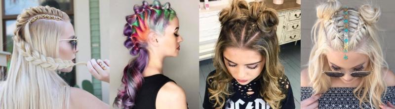 8 идей косичек для коротких волос - Подбор причесок онлайн
