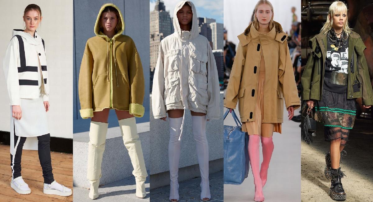 Какие куртки в моде осенью 2018 - фото женских моделей молодежных ...