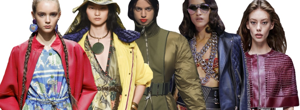Цвет брендовых модных женских курток из дизайнерских коллекций сезона Весна-Лето  2017 c0adac8b1aaf9