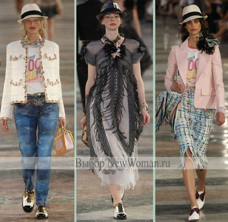 cb6008cb81b Летние тренды 2017 года от модного дома Шанель. Карл Лагерфельд  представляет модели ...