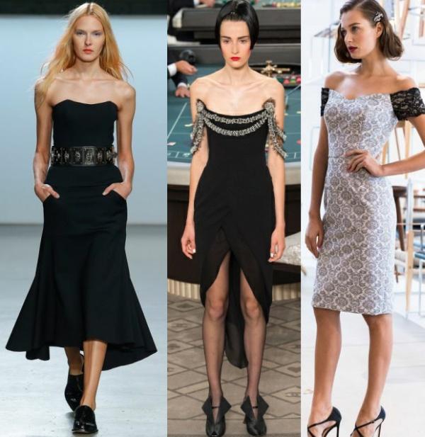 Какая средняя длина платья